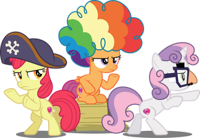 Vector #698 - Charlie's Crusaders by DashieSparkle