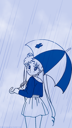 Walking In The Rain by soapboxinggeek