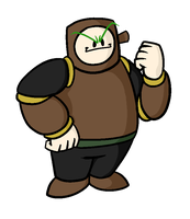 Woodman [Binary Pixel] by CosmicAscension
