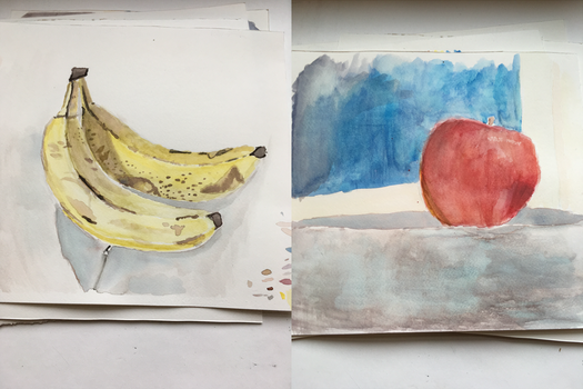 Watercolor Studies by deegdumdoodilly