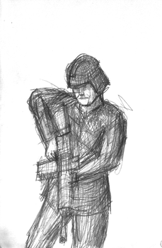 Mars 2050 Northern Stormtrooper Concept Sketch by ForgottenDemigod