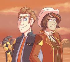 Rhys and Fiona by pkstarst0rm