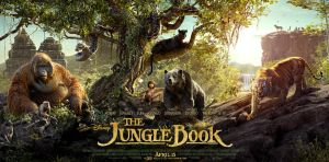 New Jungle Book (2016) Banner Poster by Artlover67