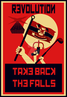 Revolution! Take Back the Falls! by wanderingent