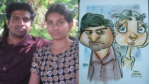 caricature- kayla gales chua by chrisCHUA