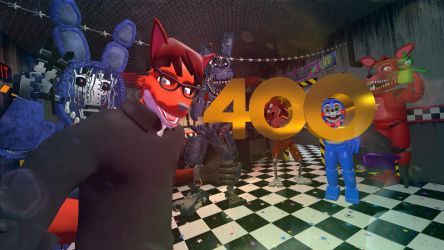 400 Watcher Milestone! by SlayerTheFox115