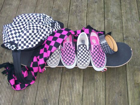 Checkered... by chiemii