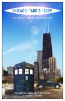 Chicago TARDIS programme cover by TaraLJC