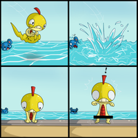 This comic contains pokemon :P by Sklavenbrause