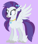 Hippogriff Rarity by unicornsmile