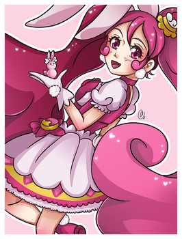 [F] Cure Whip - Kirakira Precure a la mode by AngelDranger
