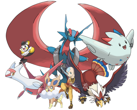 Avatar - Aang's Pokemon Team by Tails19950