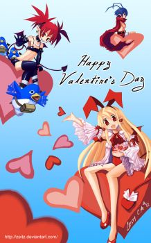 Disgaea Valentine's Day by Zeitz