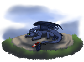 First Toothless - 2014 by Sofua