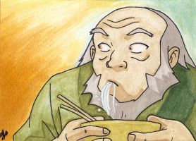 Uncle Iroh by reh-kitz