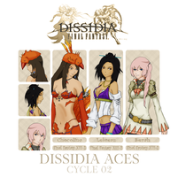 Dissidia Aces C2 Preliminary by Ruby-Hime