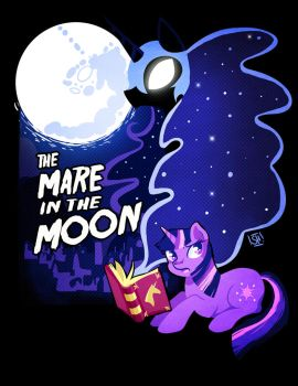 The Mare in the Moon by SteveHoltisCool