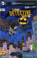 Batman-Sketch Cover Variant by DomNX