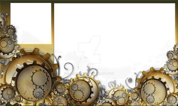 Overlay for a Chill Stream in a Steampunk theme. by MaddysDen