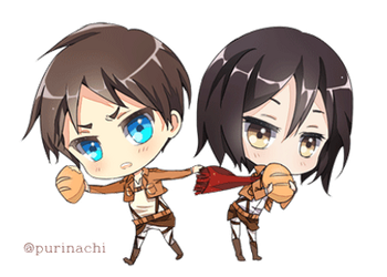 Snk chibis by purinachi