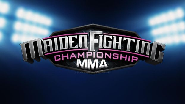 Maiden Fighting Championship MMA - Logo Treatment by NewRandombell