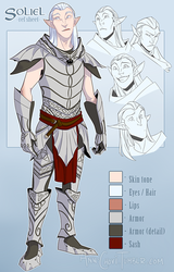 Character Ref - Soliel by AnnChovi