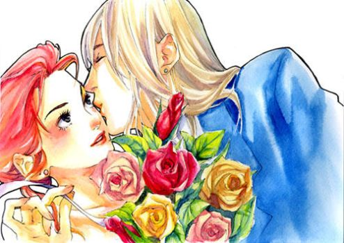 Howl and Sophie 2 by taka0801