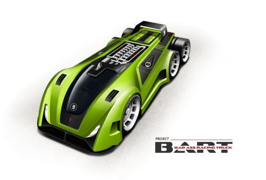 Project BART (Bad Ass Racing Truck) by digital-passion-com