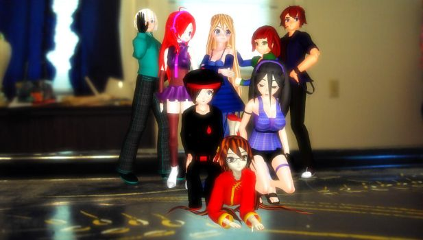 MMD Random Group picture by mbarnesMMD