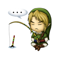 Zelda Collab - Fishing Rod by Zaziki7