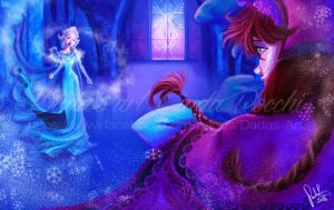 Frozen * Elsa and Anna * (Reprise) by dadachan87