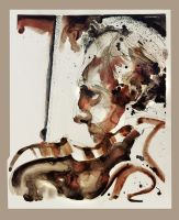 Sketchbook Early Days ~ Issac Stern by richardcgreen