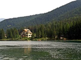 Hotel of lake by Sergiba
