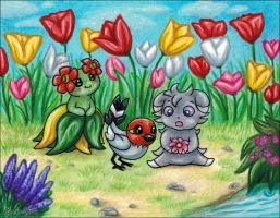 Spring Time Mysteries by Bafa