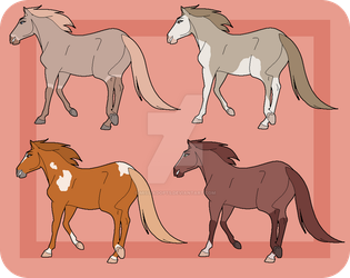 SSOTC Mare Designs - All Sold by Miss-Adopts