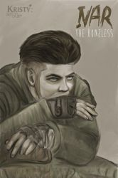 Ivar The Boneless Drawing by sirkeht