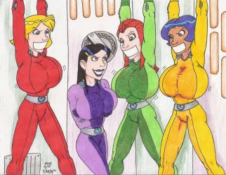 Totally Busted Spies by Crash2014