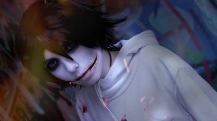 Jeff the killer Cosplay /// CREEPYPASTA by betweenmyface