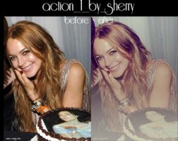 action 1 by sherry by OvOsmile