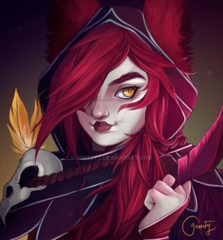 Commission - Xayah by Greesty