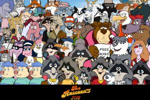 Raccoons 2018 cast by PUFFINSTUDIOS