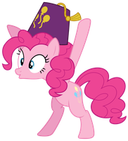 -V- Pinkie wants you to worship this fez by Pirill-Poveniy
