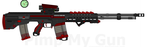 DII H-DCBR-24 'Stormfront' Hvy- Dual Cal Btl Rifle by Lord-DracoDraconis