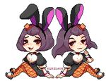 Bonnie and Betty by kurolain