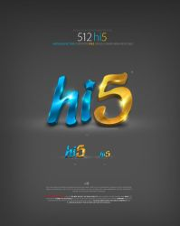 hi5 Icon by antialiasfactory