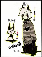 Chris and Mr.Foofy by Snezha-Crown