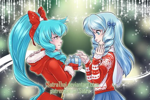 Merry Christmas! - 10/13 - Sister's gift by SatraThai