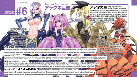 Monster Musume Arachnae facts by Fu-reiji