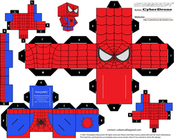 Cubee - Spider-Man by CyberDrone