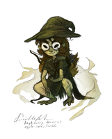 Swamp Witch Iz (Recolor.me Avatar) by Amphibizzy